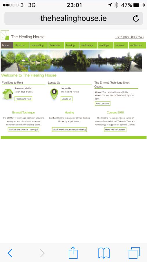 Responsive Web Design - Before