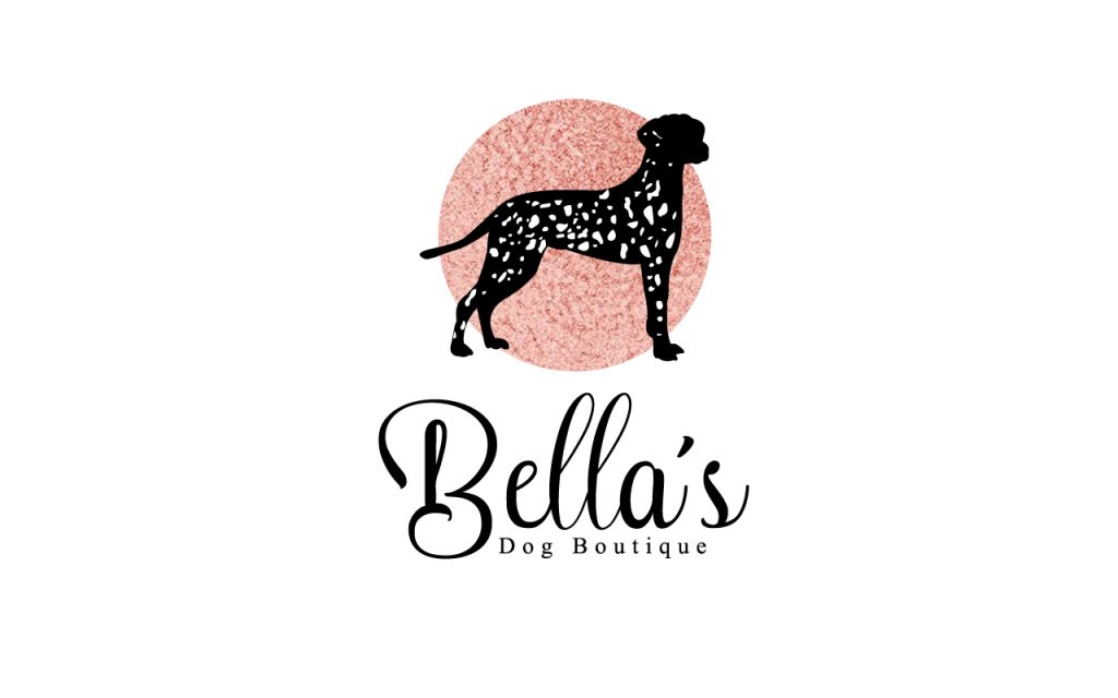 Bellas Dog Boutique Logo