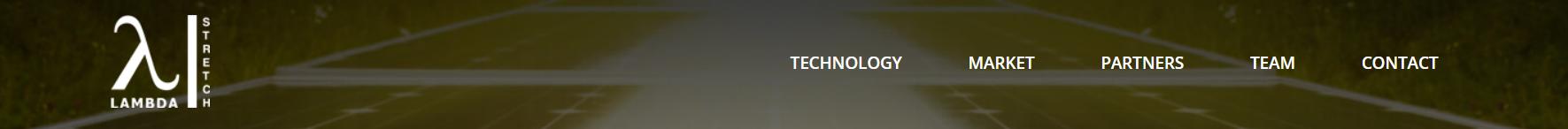 Lambda Stretch Logo on Website - www.lambdaStretch.com