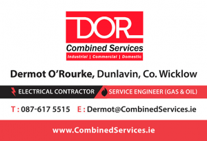 Combined Services Business Card Front