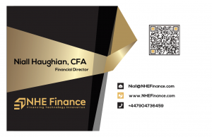 NHE Finance Business Card Front