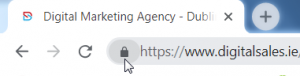 Website with an SSL Cert