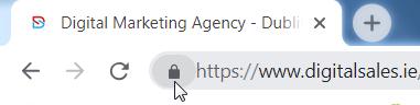Website with an SSL Cert