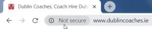 Website without an SSL Cert