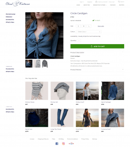 Individual Product Pages