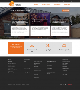 Tuath Housing - Homepage Second Draft