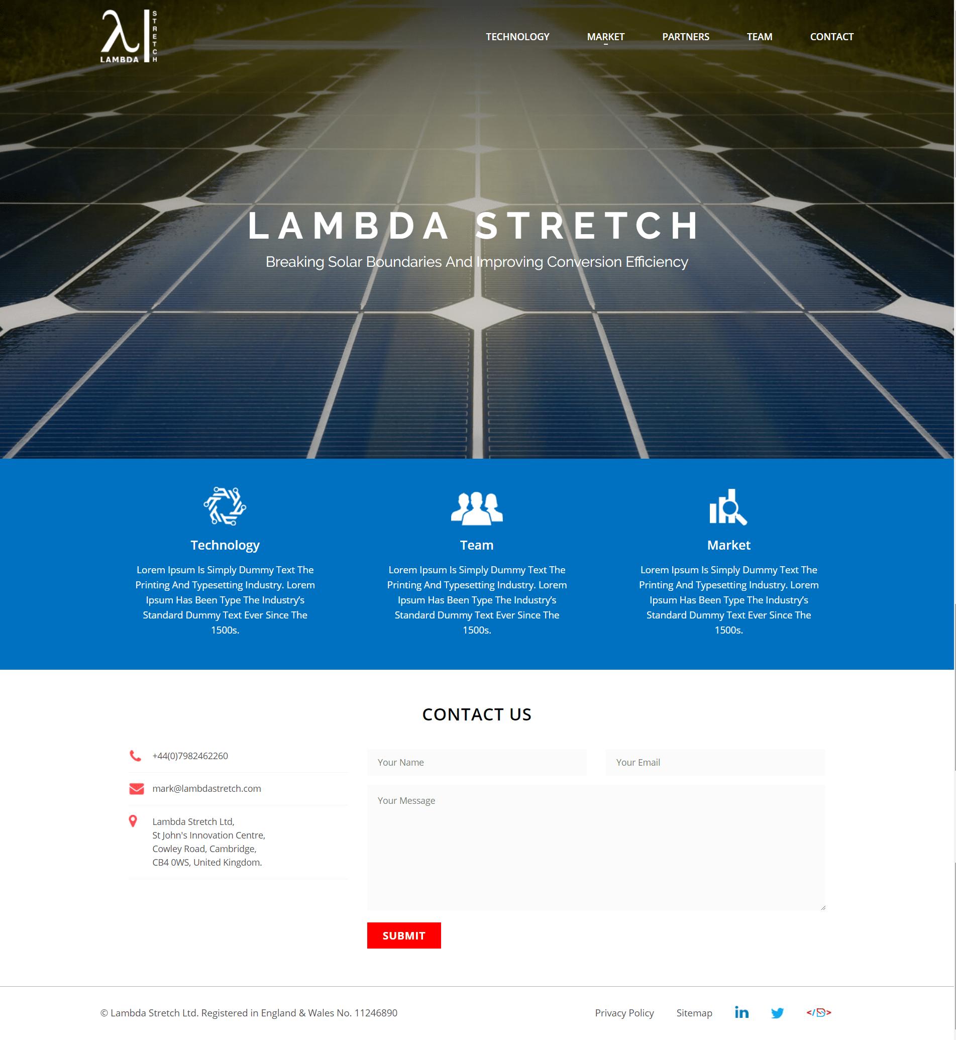 Lambda Stretch